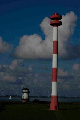 48- Leuchttürme, Leuchtturm, Balje
