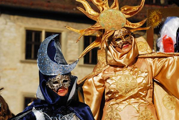 7 - Hallia Venezia - Schwäbisch Hall feiert Karneval venezianisch , originell und fast so schön wie original