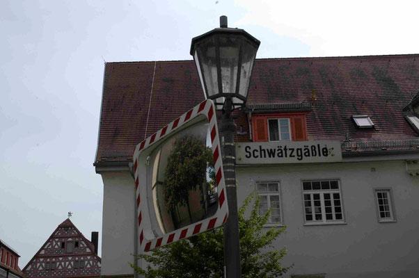 96-  Straßenschild, Liebfrauenstraße