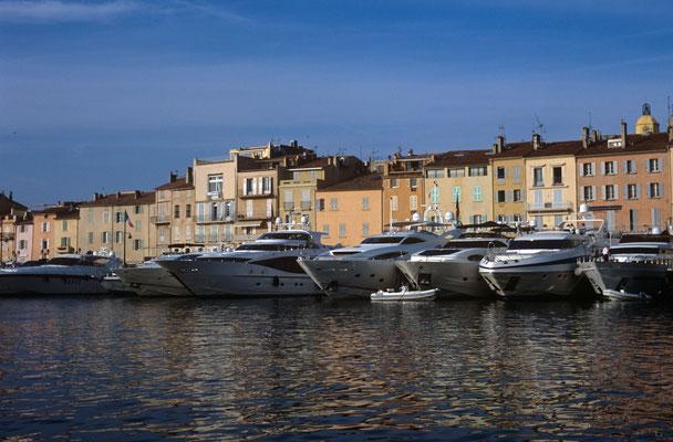 6- St. Tropez, Hafenblick, Hafen, Frankreich