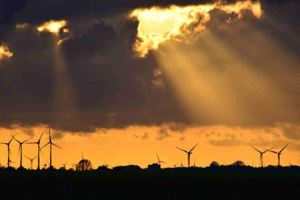 73 - Windräder am Horizont, Niedersachsen