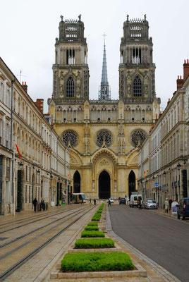 51 - Frankeich  Kathedrale von Orleans - Sainte-Croix d'Orléans im nachgotischem Stil.