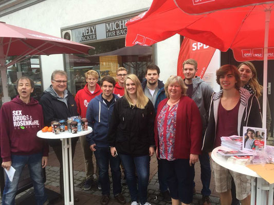 Cordula Schultz SPD im Wahlkreis Segeberg-Ost aktiv