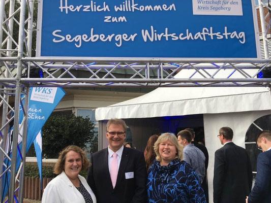 Cordula Schultz SPD auf Segeberger Wirtschaftstag