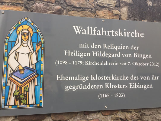 Rüdesheim-Wallfahrtskirche St. Hildegard
