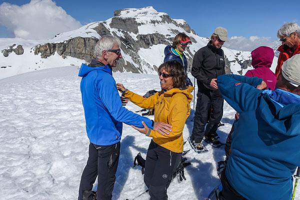 Gipfelfreuden mit Steghorn Blick
