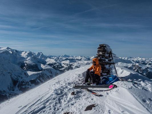 Blick vom Ammertenspitz zum Wildhorn und Nieseohore,rechts die Freiburger Alpen