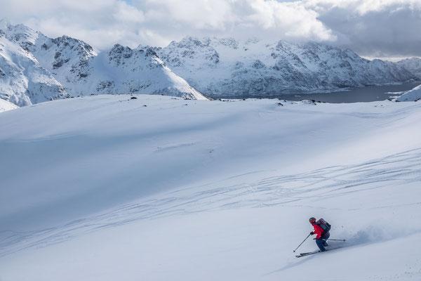 Geniale weite Hänge, da hat jeder Platz zum Skifahren