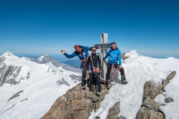 Gipfelfreuden bei Null Wind