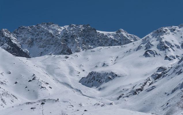 Mont Velan und unsere Handschrift im Schnee