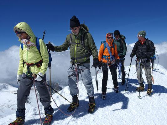 Der Gipfel gehört uns