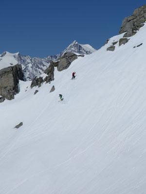 Sulzwonnen vor dem Aletschhorn