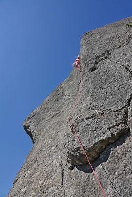 auf dem Rückweg besuchen wir diverse Klettergebiete um Die im Vercors Nationalpark