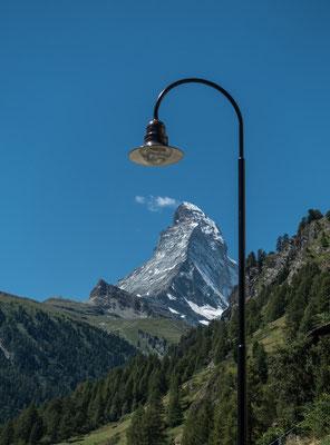Das Markenzeichen von Zermatt wäre an diesem Tag eine Besteigung wert