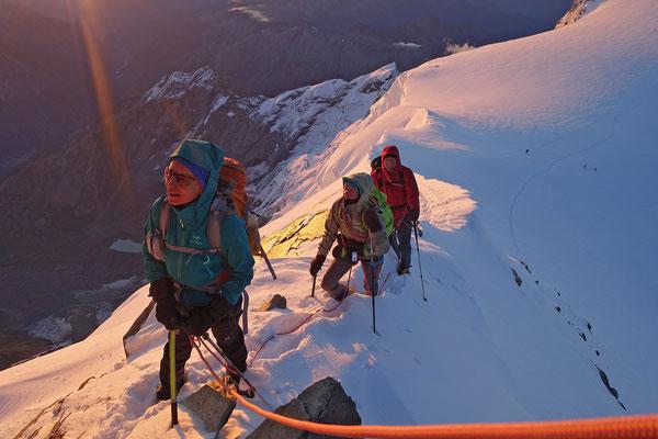 Blick zur Zumsteinspitze