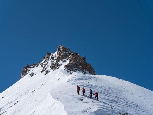 Nicht alle wagen den Aufstieg zum Gipfel