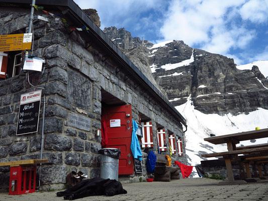 Die alte Gspaltenhornhütte