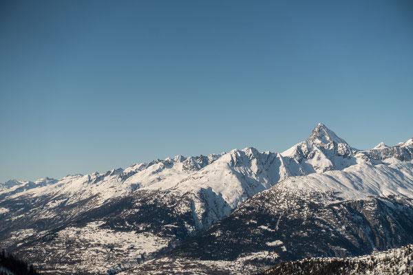 Das Bietschhorn überragt sie alle, die unzähligen Gipfel oberhalb des Rohnetal