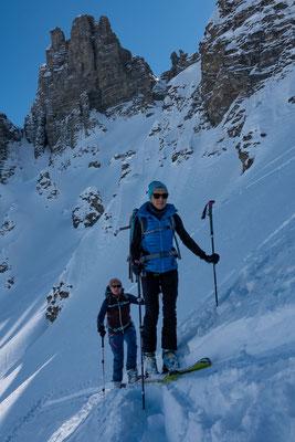 Der Gipfel macht seinem Namen alle Ehre. Leider ist die Tour bereits zu einem beliebten Ziel ohne nennenswerten Gipfel geworden
