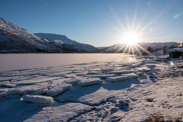 Nachmittagsstimmung am Nordfjorden