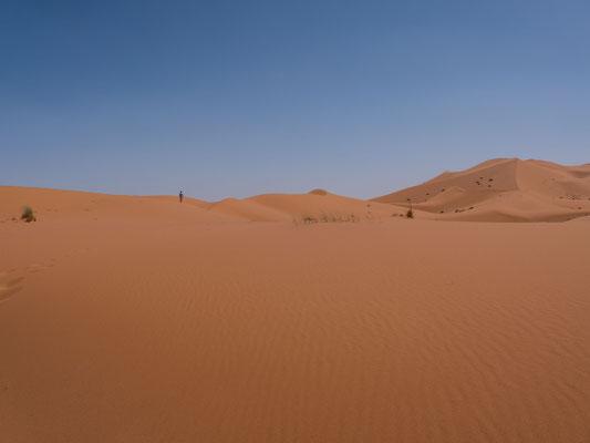 ...ein spannendes Fingerschonprogramm zu den bekannten Sanddünen