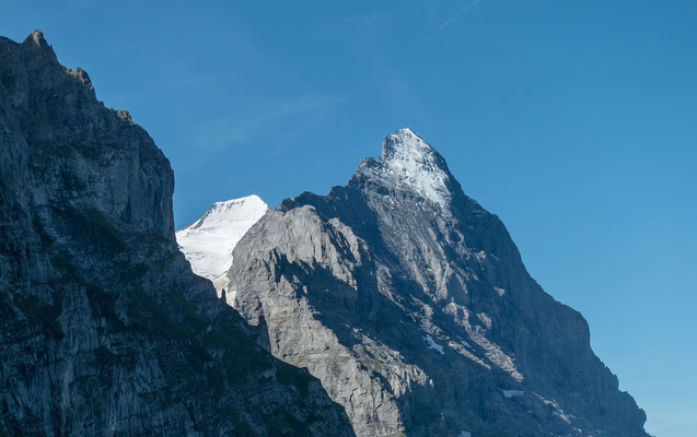 ...mit Blick auf Eiger, Mönch und Spitz