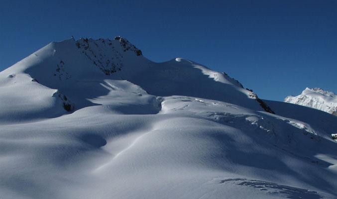 Rimpfischhorn und Dufourspitze