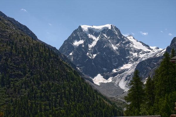 Unsere Tour führt rund um den mächtigen Mont Collon