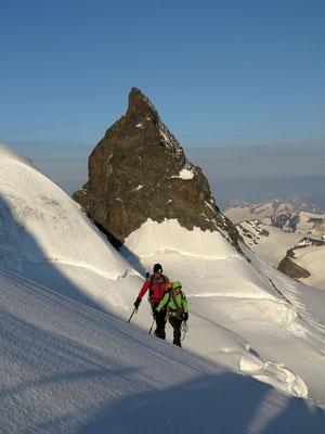 Crast `Agüzza oder das Matterhorn vom Engadin