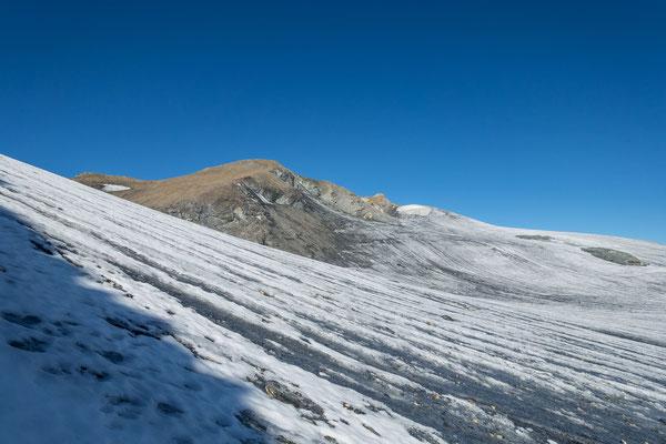 Kein spektakulärer Gipfel, die Pointe de la Vuasson. Bietet aber im Winter eine Hammer Nord-Abfahrt nach Pralong
