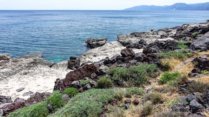 Küstenabschnitt zwischen der Cala Gonone und Biddiriscottai