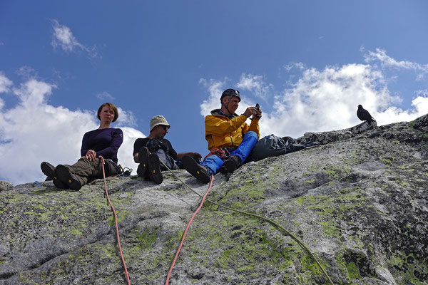 Gipfelspass zu Viert