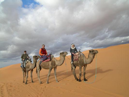 ...es geht in die Wüste