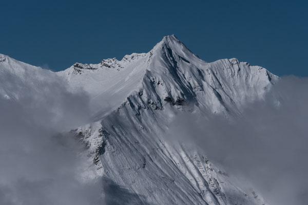 Ein stolzer Skigipfel in der Niesenkette, das Ladholzhore