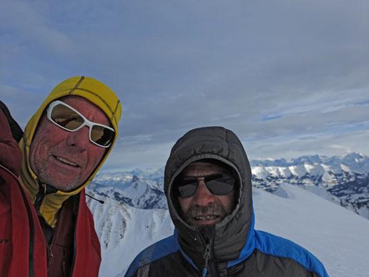 Seit den Lofoten nicht mehr gemeinsam einen Gipfel erstiegen