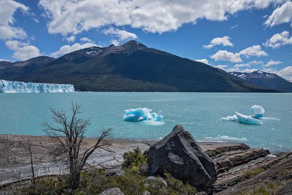 Abschlussausflug am Lago Argentina zum weltbekannten Perito Moreno Gletscher