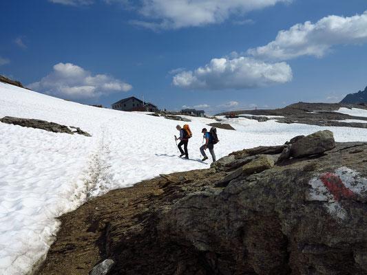 Kurz vor der Lötschenpasshütte