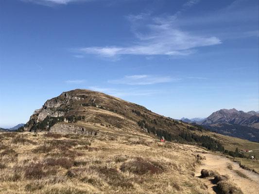 Der Burgfeldstand ist vom Niederhorn her leicht erreicht