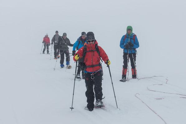 Das kennen wir schon, prachtvolle Aussicht bei der Fahrt zum Jungfraujoch und dann dies!!!