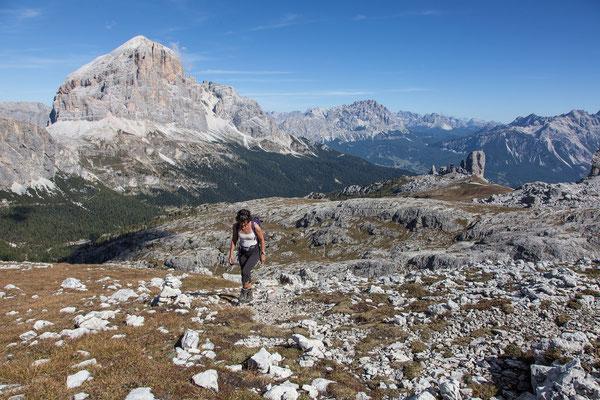 Auf dem Dolomitenhöhenweg