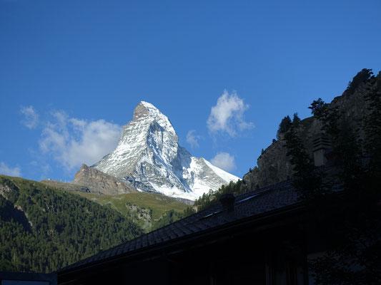 Der Zermatter Hausberg im besten Licht