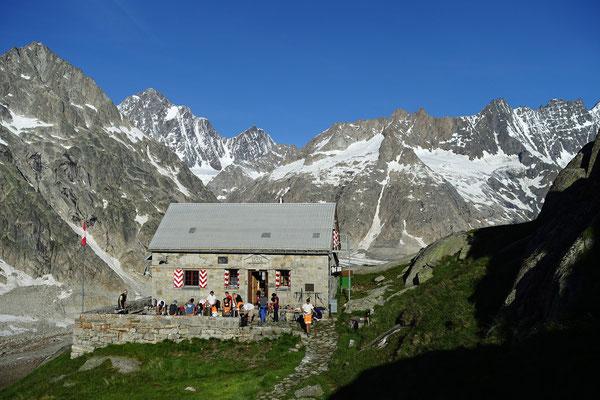 Prächtig gelegene Lauteraarhütte