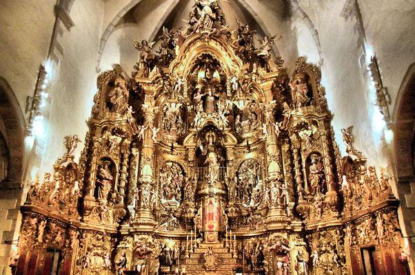 Cadaquès : Retable de l'église de Santa Maria