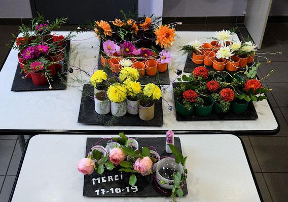 Un décor floral à la maison...admirez notre savoir-faire !