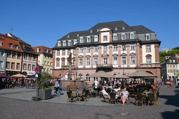 L'Hôtel de Ville - Eidelberg est la plus grande ville qui n'a pas été bombardée pendant la dernière guerre