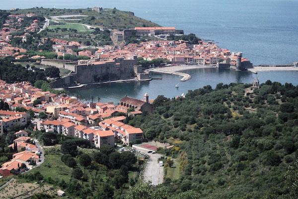 La baie et l'église Notre Dame des Anges de Collioure