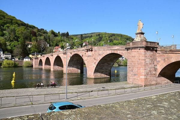 """Le Vieux Pont sur le Neckar """" Alte Brücke"""""""