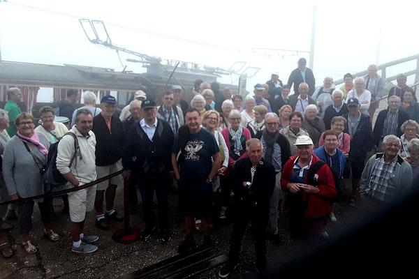 Visite touristique en petit train à crémaillère de la Rhune à Sare