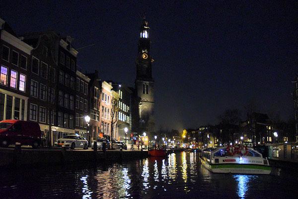 Notre visite d'Amsterdam s'achève avec cette promenade en bateau mouche