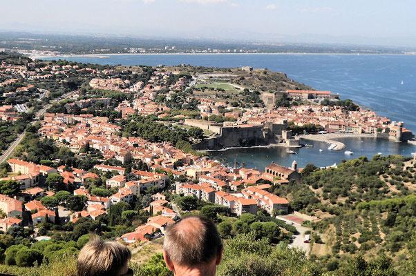 Collioure depuis le Fort Saint Elme